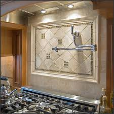 kitchen backsplash medallions kitchen tile backsplash design ideas