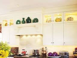 Decorating The Top Of Kitchen Cabinets - Decor for top of kitchen cabinets