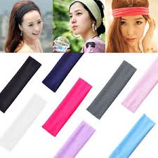 sports hair bands women girl sports stretch headband band hair bands