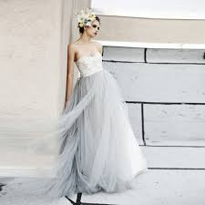 Light Gray Bridesmaid Dress Light Gray Wedding Dress Wedding Ideas