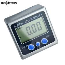 electronic finder digital protractor inclinometer bevel box level measuring tool