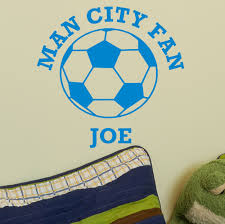wall sticker with name and name of team football wall sticker with name and name of team