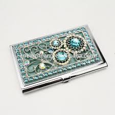 Bling Business Card Holder Metal Pocket Business Card Holder Metal Money Clip And Card Holder