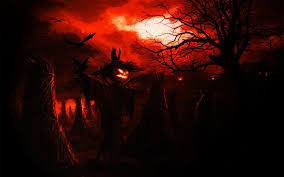 scary halloween desktop background scarecrow wallpaper wallpapers browse