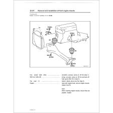 mercedes a class service service manual engine 102