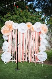 wedding photo backdrops 20 diy paper wedding backdrops backdrops paper ribbon and diy paper