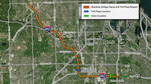 Chicago Toll Roads Map by South Tri State Tollway I 294 Repair Projects Illinois Tollway
