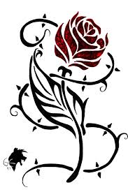 Tribal Tattoos With Roses - tribal by greeneco94 on deviantart