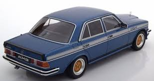 mercedes w123 amg otto mobile mercedes 280e w123 amg blue ot221 model car 1 18