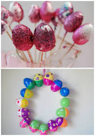 Easter Egg Decorating At Home by Learn With Play At Home Easter Activities Using Plastic Eggs