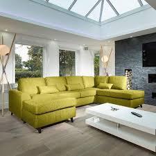 lime green l shade large modern luxury sofa settee 3x2mtr l shape corner group r h