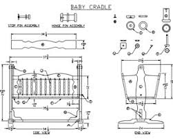 Free Woodworking Plans For Baby Furniture by Baby Cradle Plans Woodworking There Are Tons Of Beneficial Hints