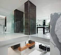 Home Design Plaza Tumbaco by White Dark Marble Contemporary Home Office Design 1024x924 Jpg