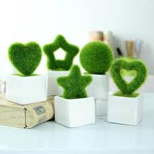 mini simulation plant ornaments creative wedding decorative