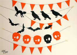 easy diy halloween garland easy diys