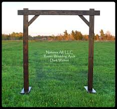 wedding arch wedding arch wedding arbor rustic wedding arch complete kit