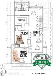 Cafe Floor Plan by Purr Fection Here U0027s What Dayton U0027s First Cat Cafe Will Loo