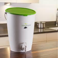composteur de cuisine 15l vert