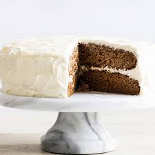 carrot cake with cream cheese frosting recipe epicurious com