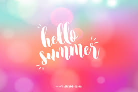 posiquotes hello summer awesome with sprinkles
