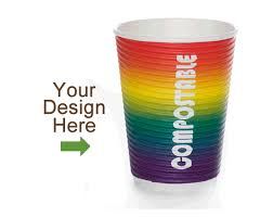 personalized disposable coffee cups custom printed paper cups