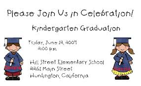 kindergarten graduation invitations kingergarten graduation invitations