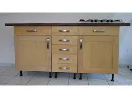 meuble de cuisine avec plan de travail pas cher modèle buffet de cuisine avec plan de travail idee cuisine