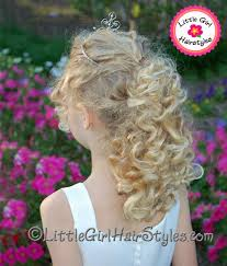 cute hairstyles for first communion girls hairstyle with tiara a charming look for your little girl