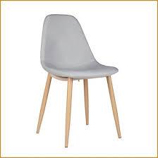 beau chaise marron pas cher décoration française with