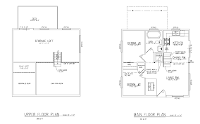 2 tiny small house plans with loft stylish on plans small guest