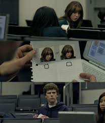 The Social Network Meme - zuckerberg note pass know your meme