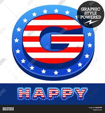 Blue Flag Stars In Circle Vector Set American Flag Stripes Vector U0026 Photo Bigstock