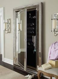mirror jewelry armoires free standing jewelry armoire with mirror foter
