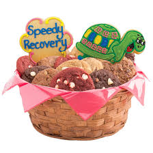 cookie baskets delivery get well basket get well gift delivery cookies by design