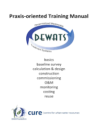 dewats decentralized wastewater treatment systems practice
