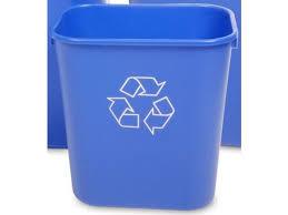 poubelle de bureau tri selectif corbeille ou collecteur de piles pour tri sélectif au bureau