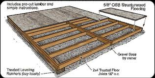 Building Backyard Shed by Backyard Shed Foundation Plans For Your Shed Building Shed