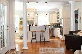 from yellow to blue a kitchen transformation unskinny boppy