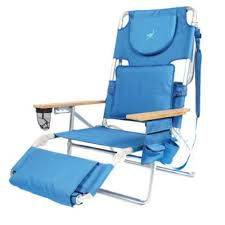 Reclining Folding Chair With Footrest Buy Adjustable Beach Chair From Bed Bath U0026 Beyond