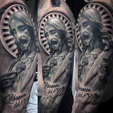 100 sacred heart tattoo designs for men religious ink ideas with