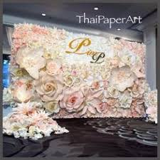 wedding backdrop name pin by colon on paper flower wall paper flower