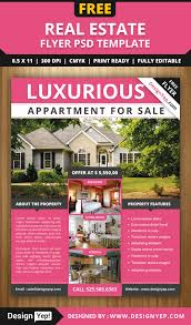 Best Real Estate Flyer Templates by Free Real Estate Flyer Psd Template Free Flyers Pinterest
