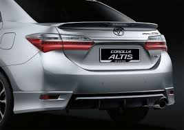 toyota corolla altis upgraded for 2017 autoworld com my