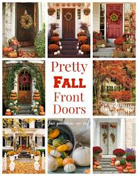 gorgeous front door fall decorating ideas diy ideas
