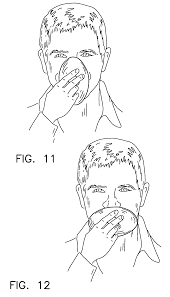 patent us7997275 cough catcher with protection against germ