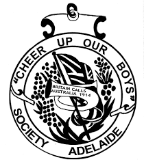 original cheer up society badge design 100 years of anzac for sa