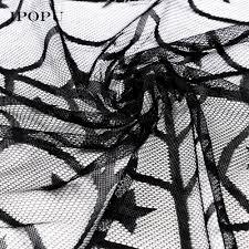 aliexpress com buy 102cm halloween spider web tablecloth black