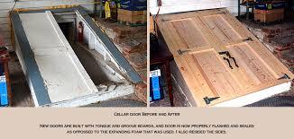 Steel Basement Doors by Exterior Basement Door Basements Ideas