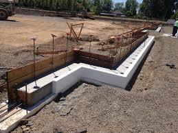 Poured Concrete Homes by Placing A Concrete Foundation On Rigid Foam Insulation
