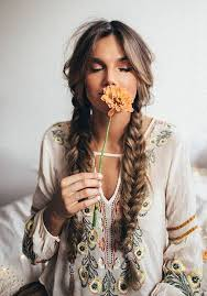 hippie hairstyles for long hair 30 boho and hippie hairstyles for chill vibes all year long